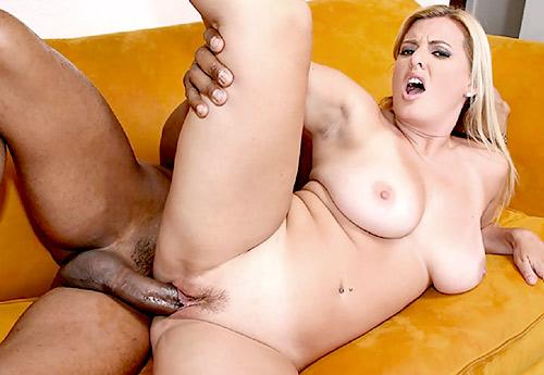 Black Cock Greedy MILF Kayla